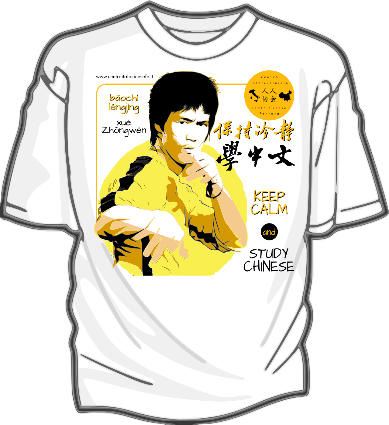 "Disegno: ""Bruce Lee ENG"""